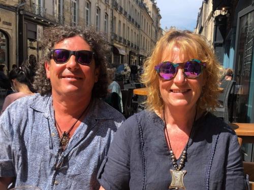chez Adèle, famille d'accueil anglaise en France