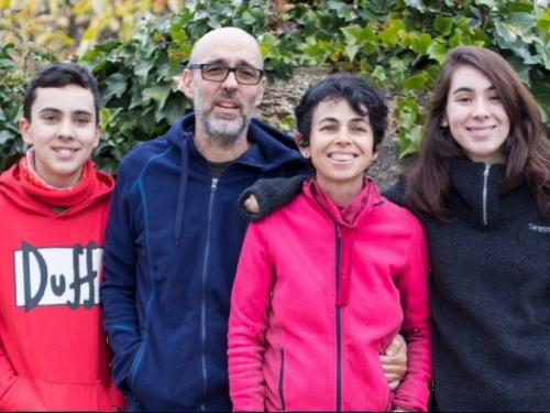 chez Carola, famille d'accueil en Espagne